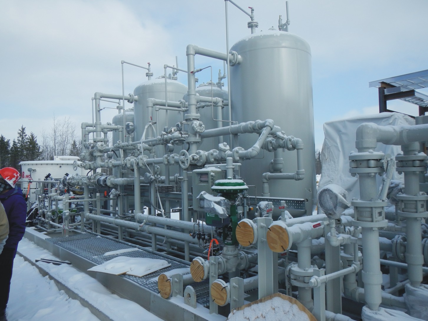 Installation of Water Treatment Plant